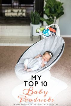 Having 3 kids I know a thing or two about the best baby products and which ones you can't live without. Come find out my top 10!   best baby products   top baby products for new moms   must have baby products   what to buy a firs time mom   baby registry