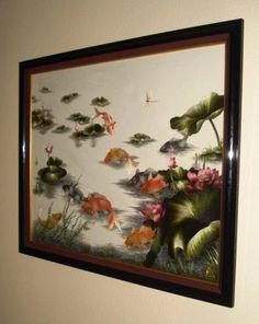 Silk Artwork by Mai Lazarus on Etsy