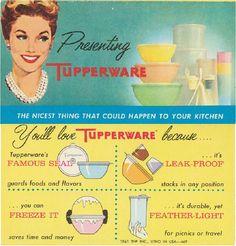 Vintage Tupperware Party Invitation