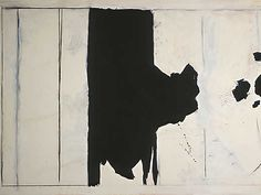 abstract painting by Robert Motherwell