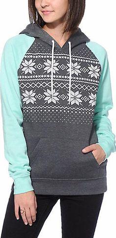 Cupshe Double Trouble Hooded Sweatshirt