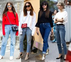 Everyday Uniform: Jeans Monochrome Tops
