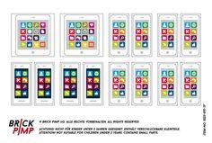 Sticker for LEGO tiles and bricks on www.brick-pimp.com
