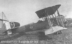 WWI French Armée de l'Air Breguet XIV of Escadrille BR 243.