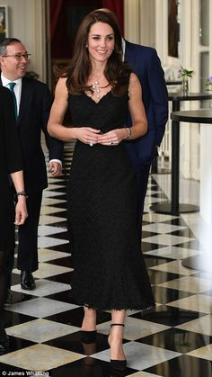 The Duke and Duchess attended a reception at the British Embassy in Paris to launch Les Voisins - The Neighbours - a year-long celebration of UK-French links