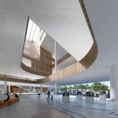 Schmidt Hammer Lassen Architects wins Shanghai Library competition
