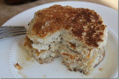 Vegan  Gluten-Free Coconut Flour Pancakes- replace rice flour with 1/2 sorghum flour, 1/2 oat flour. Use almond milk instead of soy.