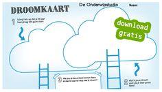 Waar droom jij van? En de kinderen van je groep? Download gratis droomkaarten. - http://onderwijsstudio.nl/droomkaarten-midden-en-bovenbouw/