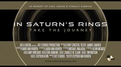 Stephen Van Vuuren uses a satellite's high-resolution images to create a spectacular film about Saturn's Rings.