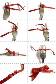 fiocco perfetto con la forchetta - Cerca con Google
