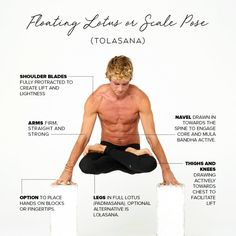 Strengthen your arms and shoulders, fire up your core, and bring levity to your practice with these Tips & Modifications for Tolasana Pose by@joshkrameryoga&@aloyoga💪#aloyoga#yoga#Goals #YogaPoses