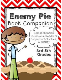 Enemy Pie is a GREAT story to read at any point of the school year--especially the beginning! It's a wonderful story about learning to get a long and becoming friends. There are great opportunities to have conversations with your class about friendship and respond to the book through meaningful activities.