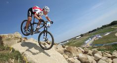 Mountain Bike venue on course for the Games