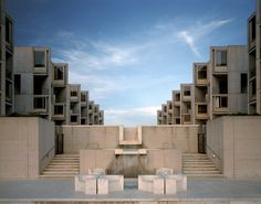Louis Khan - Salk Institute for biological studies, La Jolla CA 1965. Via Todd Eberle.