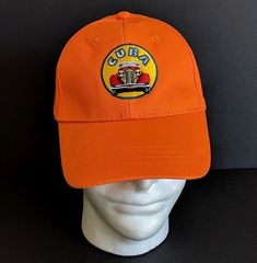 1c25dfbb3f289 Cuba Orange Adjustable Baseball Cap Cotton Car Cuban Flag Hat Embroidered   Unbranded  BaseballCap Cuban