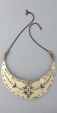 Pamela Love Breastplate Necklace  #bijoux #bijouxcreateur #bijouxfantaisies #paris #tendancesbijoux2016