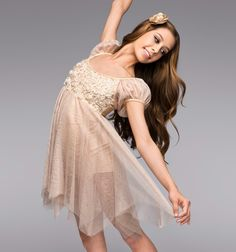 heavenly lyrical dance costume