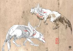 Ameterasu is a limited-edition fine art print from the official Capcom Okami art collection. This Okami print is made from original Okami concept art. The