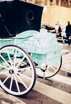 In Paris~ Tiffany & Co. carriage in Paris