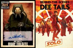 NEW SHOW 214! Want to hear behind-the-scenes stories of #SoloAStarWarsStory? Listen in as Creature Performer @deetails tells tales of Alden, Emilia, Woody & droid rebellions.  He played #Pyke Quay Tolsite on Kessel & was at a famous sabacc game.  https://www.retrozap.com/skywalking-through-neverland-214-dee-tails-creature-performer-on-solo/