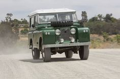Lovely old Land Rover