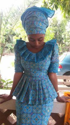 African Fashion Ankara, African Print Fashion, Africa Fashion, African Wedding Dress, African Print Dresses, African Dress, African Attire, African Wear, African Women