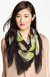 Cute scarf...Echo Bold Geometric Scarf available at Nordstrom.@$38