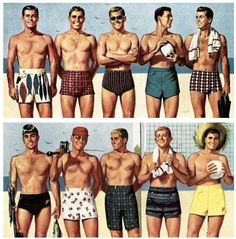 Thinking about buying new swimwear? Here's a men's swimwear guide I created to help you out: