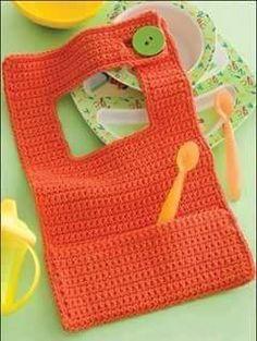 Unique Baby Bib Crochet Pattern Free Crochet Baby Bibs Of Wonderful 45 Models Crochet Baby Bibs Crochet Pattern Free, Love Crochet, Crochet For Kids, Easy Crochet, Knit Crochet, Crochet Patterns, Irish Crochet, Vintage Crochet, Crochet Stitches