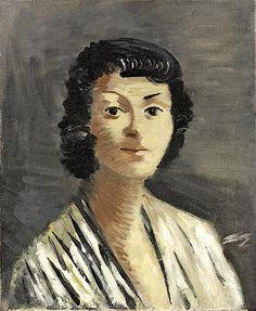 André Derain / Portrait de femme