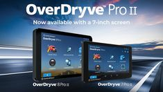 Presenting the OverDryve 7 Pro II! With features such as Rand Nav 2.0, a fully-adjustable dashboard cam, and endless wireless capabilities--and durable hardware--OverDryve 7 Pro II is a GPS built for truck drivers. Learn more here: Truck Drivers, Samsung, Hardware, Learning, Phone, Telephone, Studying, Computer Hardware, Teaching