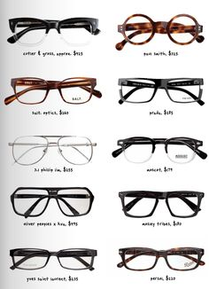 I LOVE glasses on men. :)