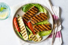 This healthy cajun-spiced grilled tofu is so easy to make. All you need to do is marinade the tofu and throw it on top of a grill pan. The marinade itself is made with 5 simple ingredients: olive …