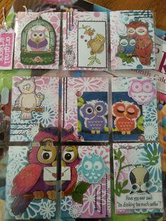 owls pocket letters | ... pocket scrapbooking forward tinkerbell pocket letter tinkerbell pocket