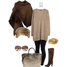 """Winter sun- plus size"" by gchamama on Polyvore"