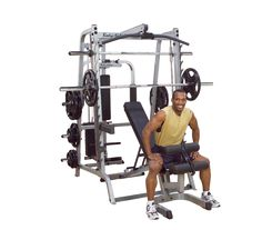 7188b53264c GS348QP4 - Body-Solid Series 7 Smith Gym - Body-Solid Fitness Best Home