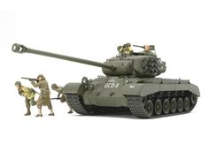 Image of 1/35 US T26E4 Super Pershing Model Kit