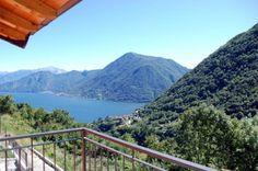 Lake Como: single villa with lake view