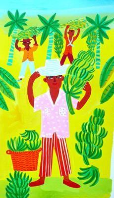 Banana Grove, Livingston, Guatemala by Christopher Corr