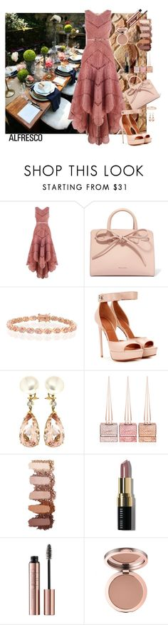 """""""Alfresco Dining"""" by marionmeyer ❤ liked on Polyvore featuring Zimmermann, Mansur Gavriel, Bling Jewelry, Givenchy, Valentin Magro, Christian Louboutin, Bobbi Brown Cosmetics and alfrescodining"""