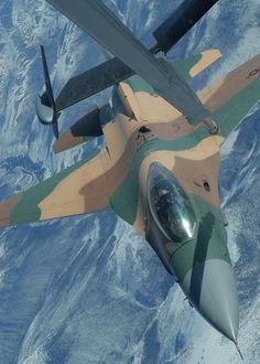 F-15 and F-16 midair collision
