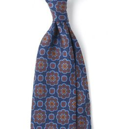 Ties On Sale, Burnt Brown, Silk, 2017, one size Ermenegildo Zegna