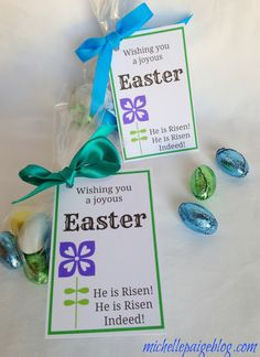 Religious Easter Tags