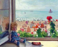 The Athenaeum - A Puppet in the Window (Albert Marquet - )