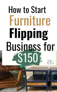 Flip Furniture For Profit, Diy Furniture Flip, Diy Furniture Renovation, Sticks Furniture, Selling Furniture, Refurbished Furniture, Repurposed Furniture, Furniture Projects, Furniture Makeover