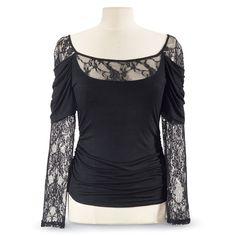 Natasha Lace Top - Women's Clothing & Symbolic Jewelry – Sexy, Fantasy, Romantic Fashions