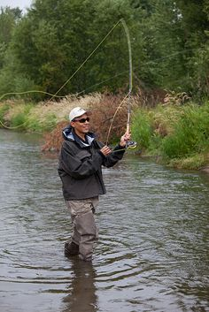 Barack Obama : YES WE FISH ! This man just gained a whole new respect from me.