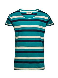 Robit Stripe Tee, Blue Grass, main