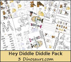 I love classic nursery rhymes. Hey Diddle Diddle is one of my girls favorite! For this months Poppins Book Nook I went with Hey Diddle Diddle for our theme. Part of the kitchen theme for us is dishes and hey Rhyming Activities, Preschool Learning Activities, Writing Activities, Nursery Rhymes Preschool, Nursery Rhyme Theme, Fairy Tale Theme, Fairy Tales, Hey Diddle Diddle, Matching Cards