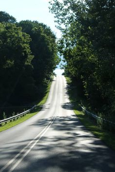 The lure of a country road. Fairfield County, Ohio